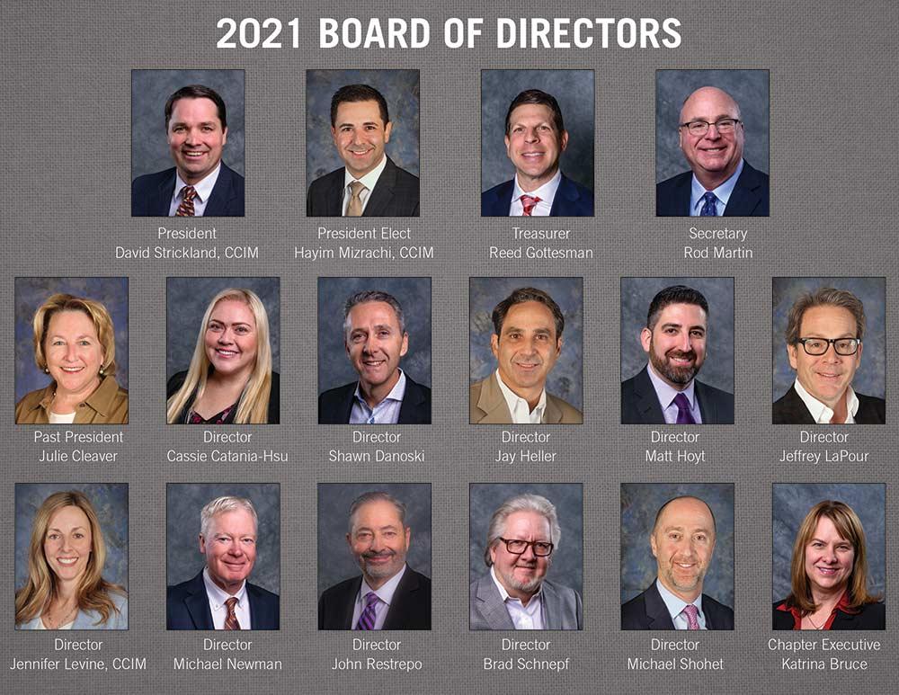 2021 NAIOP Southern Nevada Board of Directors